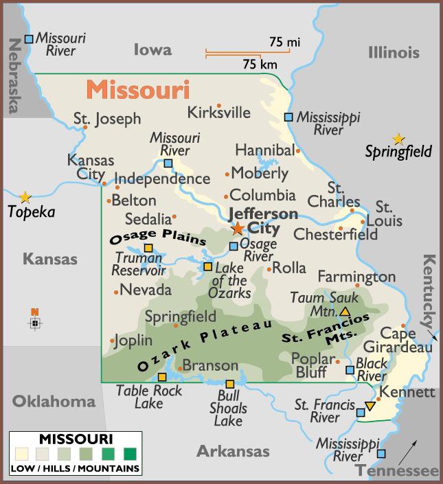 Kirksville Missouri Map